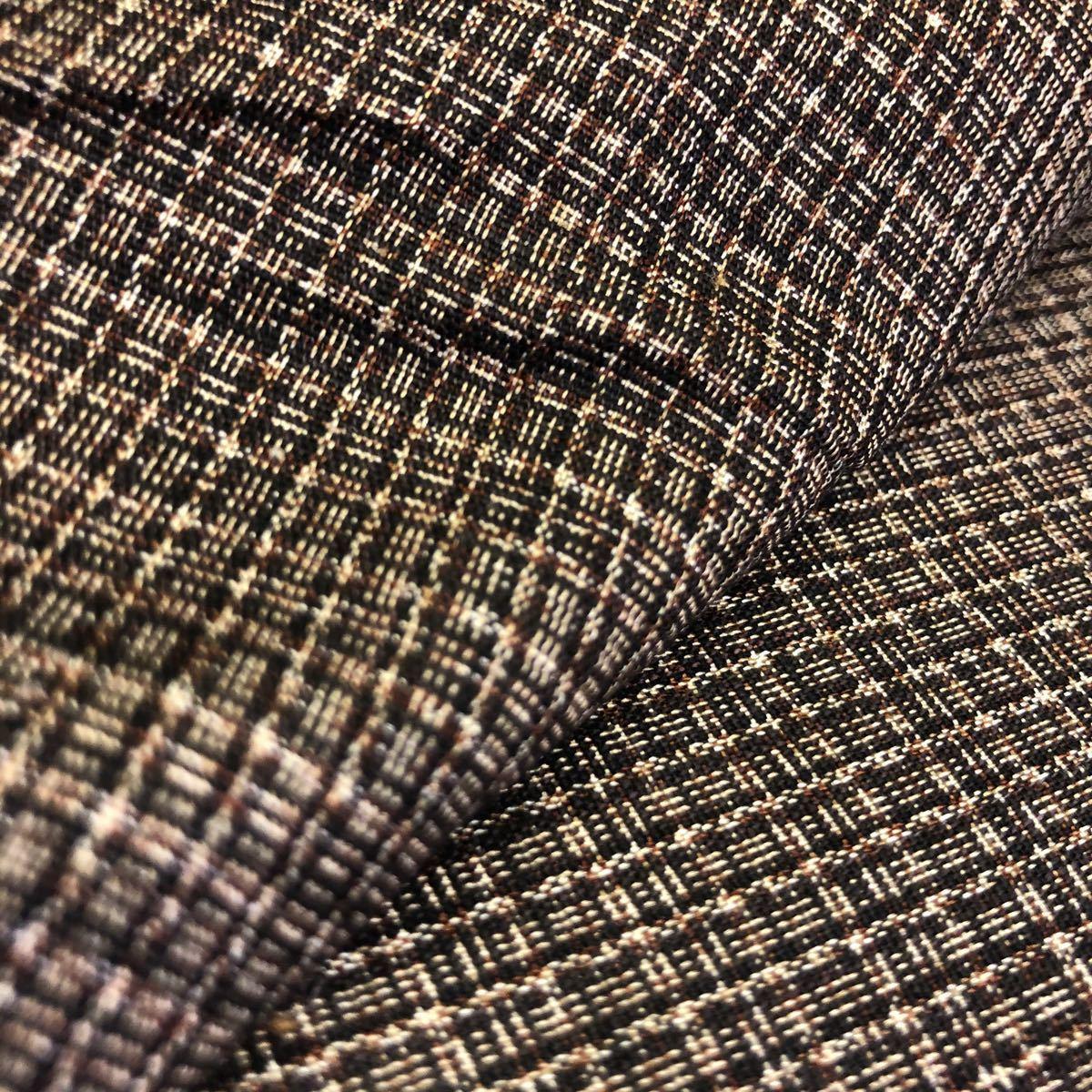 リメイク材料・古布・アンティーク・大島紬・アンサン2セット・羽織り2着・着物1着
