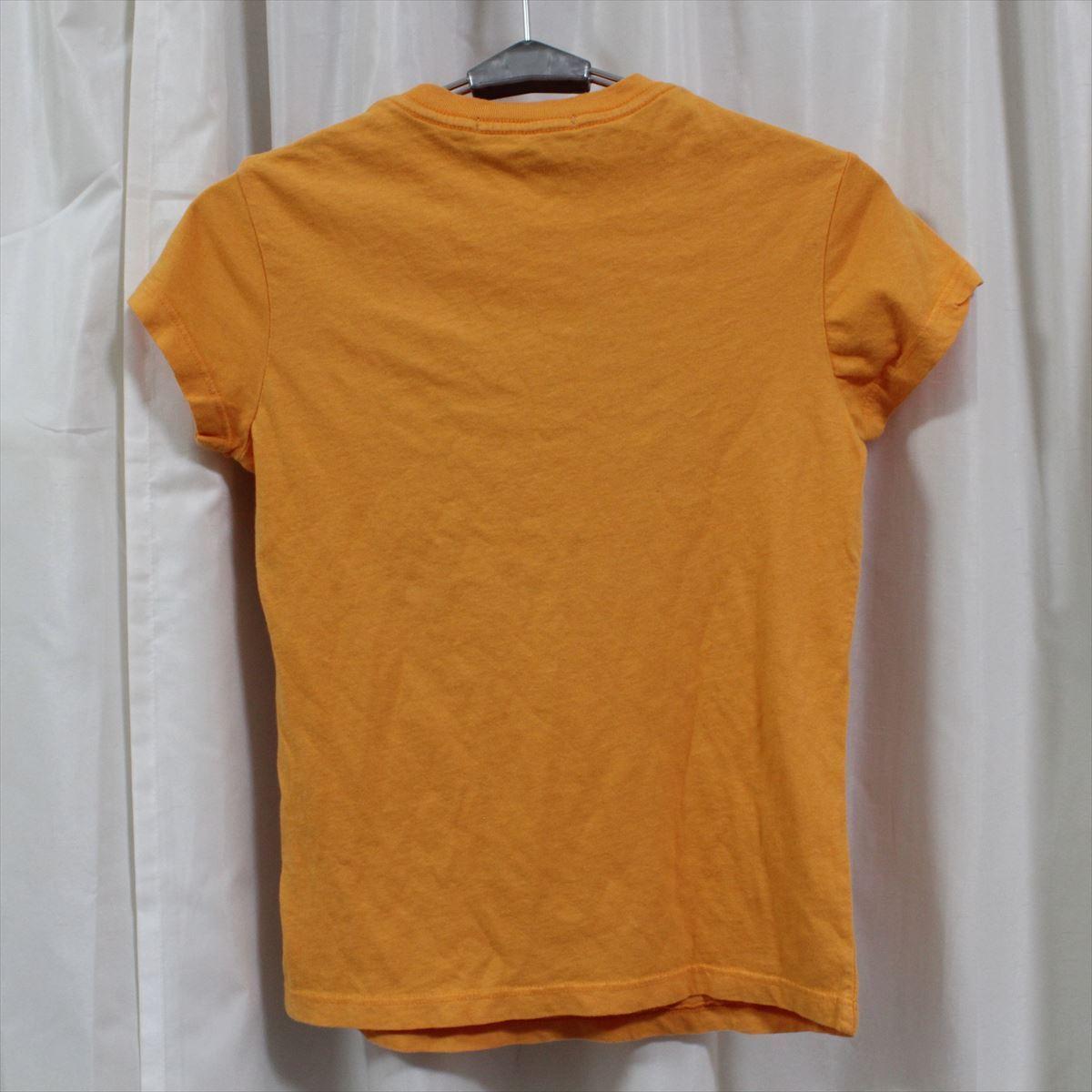 パメラアンダーソン Pamera Anderson レディース半袖Tシャツ オレンジ Sサイズ アウトレット 新品_画像3