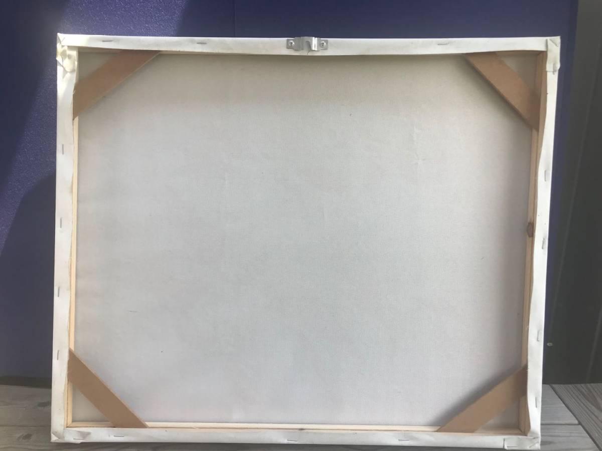 パブロ・ピカソ Picasso  複製画!約50×60cm★  額無し 木枠のみ_画像4