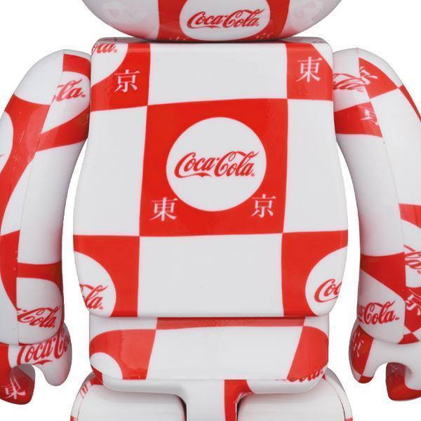 【新品未開封】BE@RBRICK atmos × Coca-Cola 100% & 400% TOKYO Ver. MEDICOM TOY メディコムトイ ベアブリック コカコーラ アトモス 東京_画像2