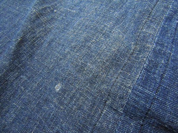 古布リメイクワンピース 藍染 木綿 古布 BORO JAPANESE_画像4