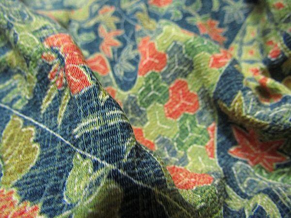 古布リメイクワンピース 藍染 木綿 古布 BORO JAPANESE_画像10