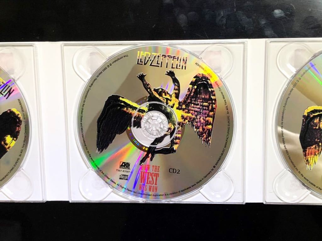 ※ LED ZEPPELIN ※ How the West Was Won ※ 輸入盤3CD_画像3