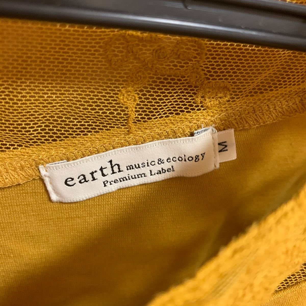 トップス カットソー earth アース Tシャツ グレー レディース トップス