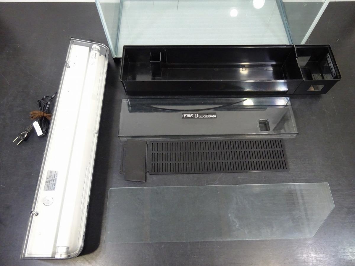 水槽 水槽セット 60*30.4*36 GEX DVAL CLEAN600 600mm クリアライト CL601 *50Hz専用_画像9
