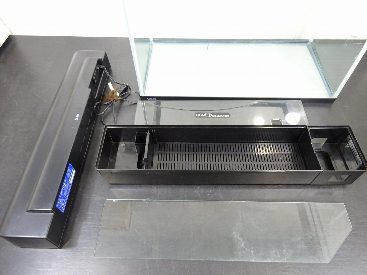 水槽 水槽セット 60*30.4*36 GEX DVAL CLEAN600 600mm クリアライト CL601 *50Hz専用_画像3