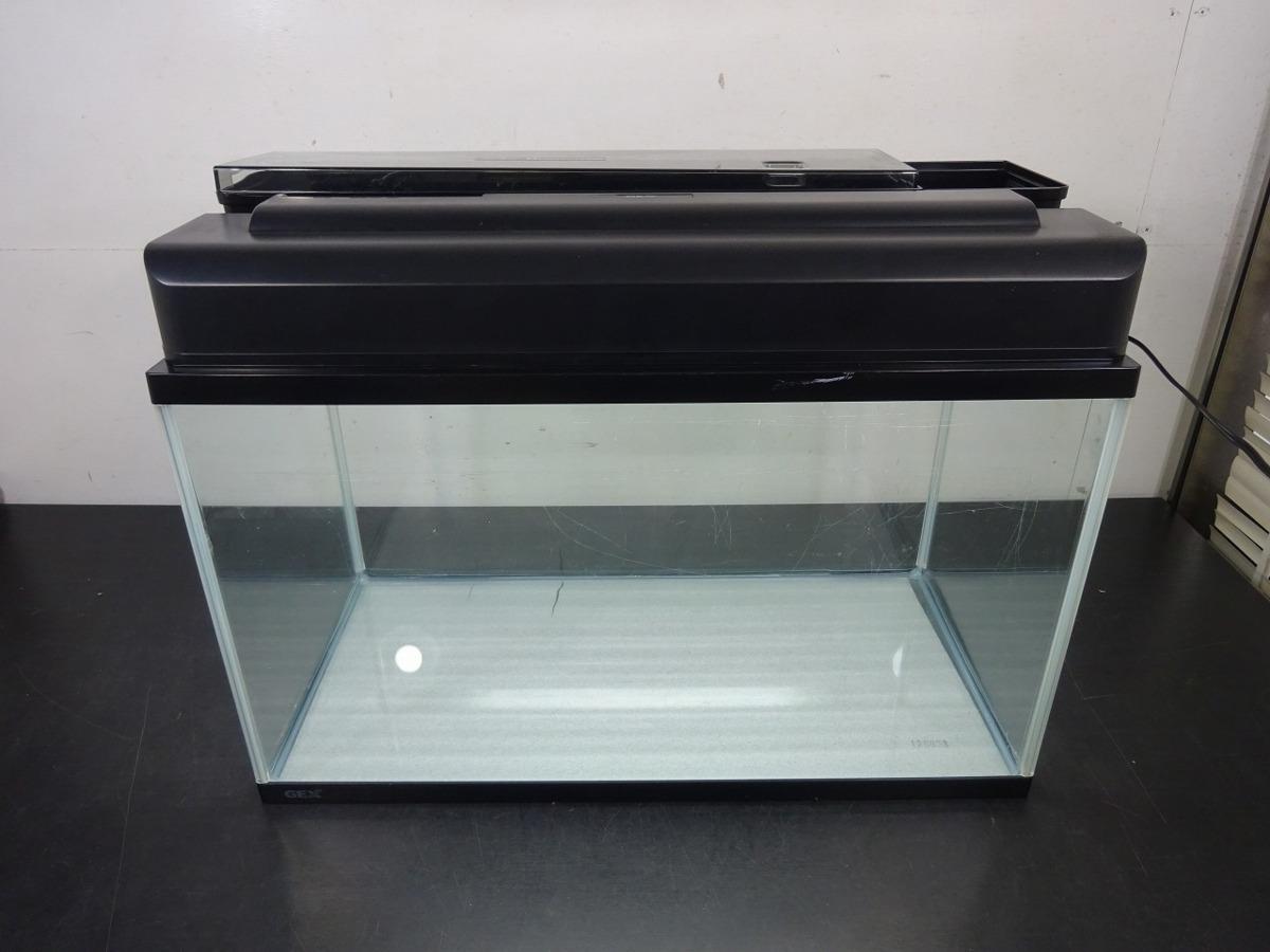 水槽 水槽セット 60*30.4*36 GEX DVAL CLEAN600 600mm クリアライト CL601 *50Hz専用_画像1