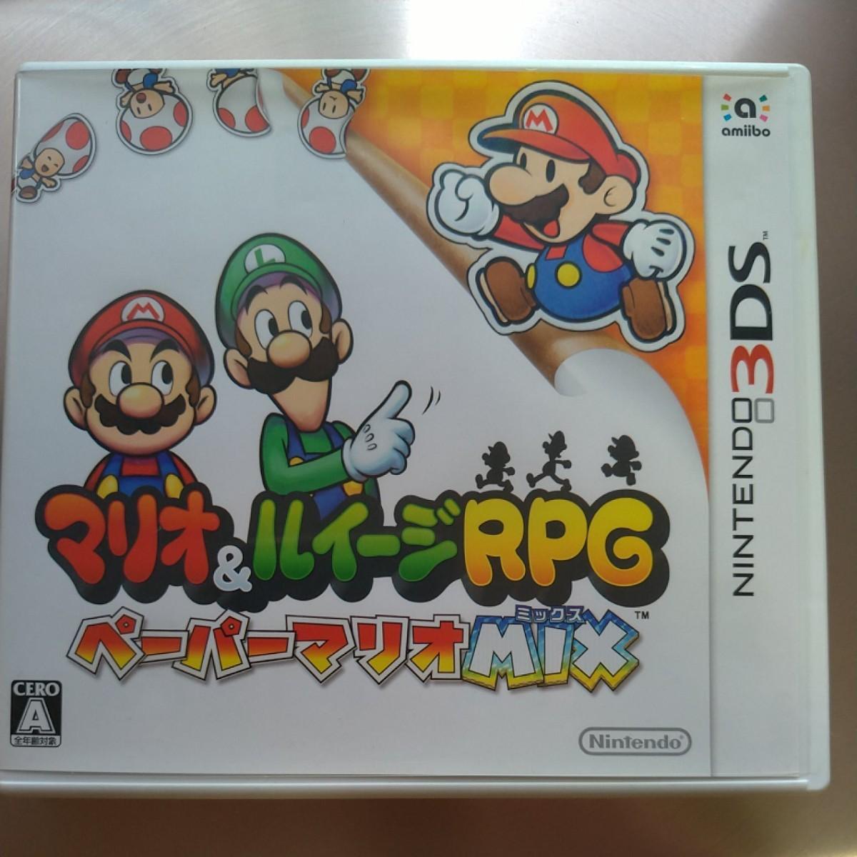 【3DS】 マリオ&ルイージRPG ペーパーマリオMIX