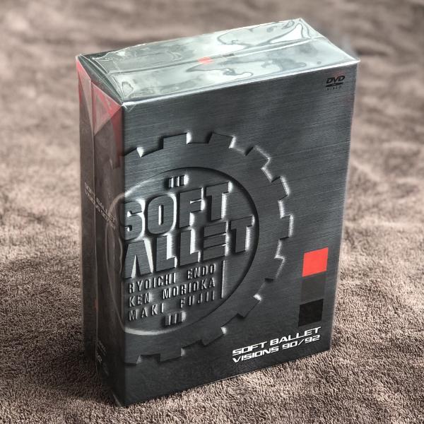 【匿名送料無料】即決新品 SOFT BALLET VISIONS 90/92/4DVD BOX/ソフトバレエ_画像1