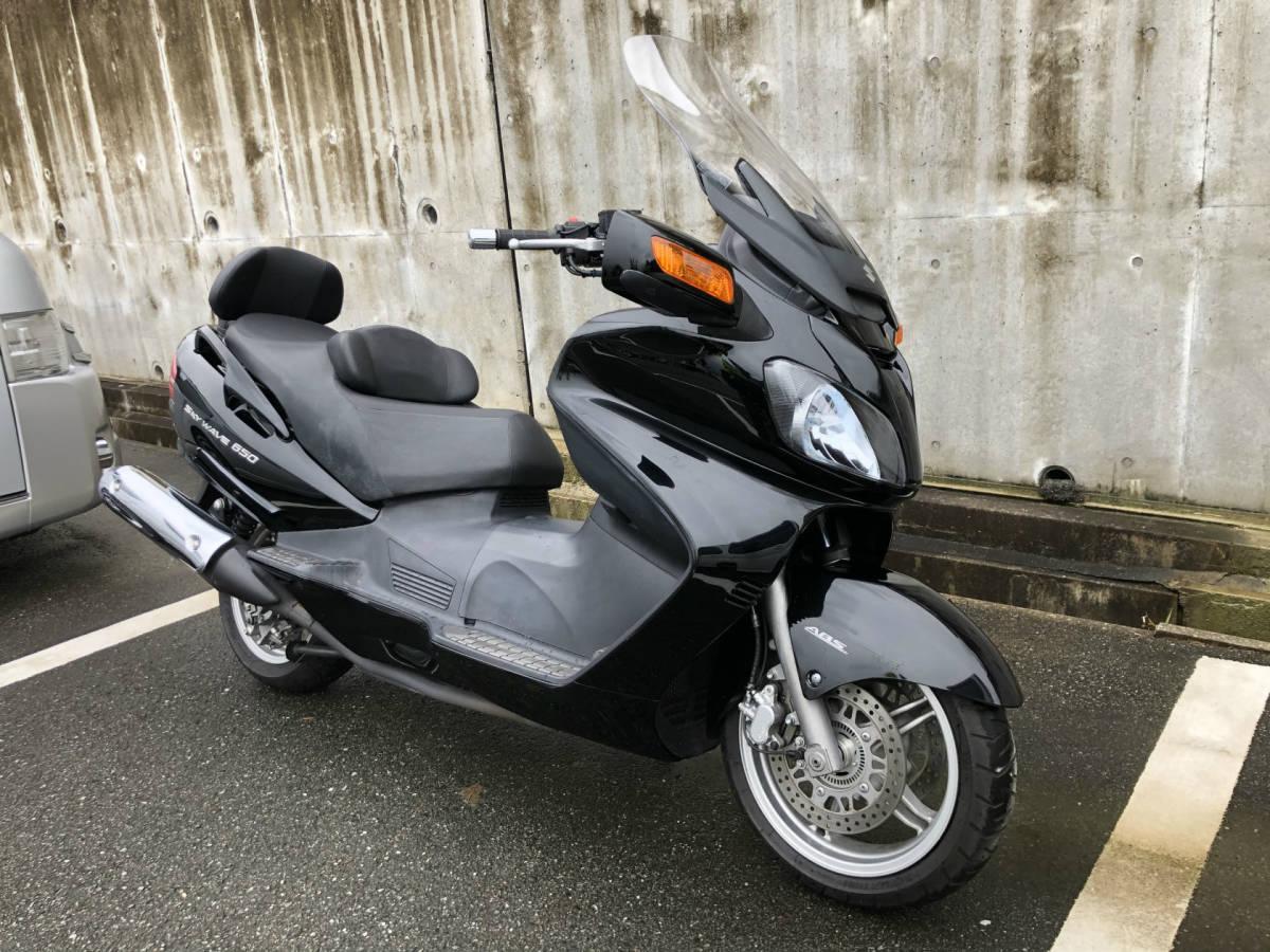 スカイウェイブ650LX CP52A ABS シートヒーター・グリップヒーター・電動スクリーン・ミラー格納 ・ETC (GooBike掲載中) 車検無 福岡より_画像1