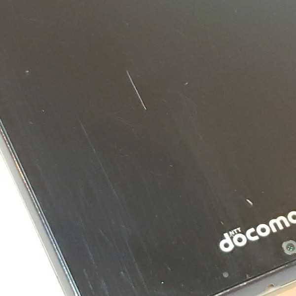 docomo SHARP AQUOS SH-04F 本体 ブラック 初期化済み_画像9