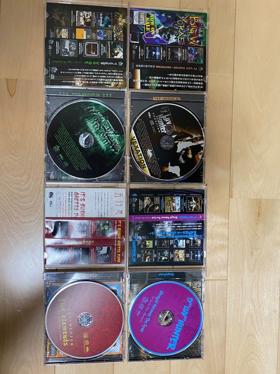 """【MIX  CD】TY """"LUV"""" HUNTER 4枚セット"""
