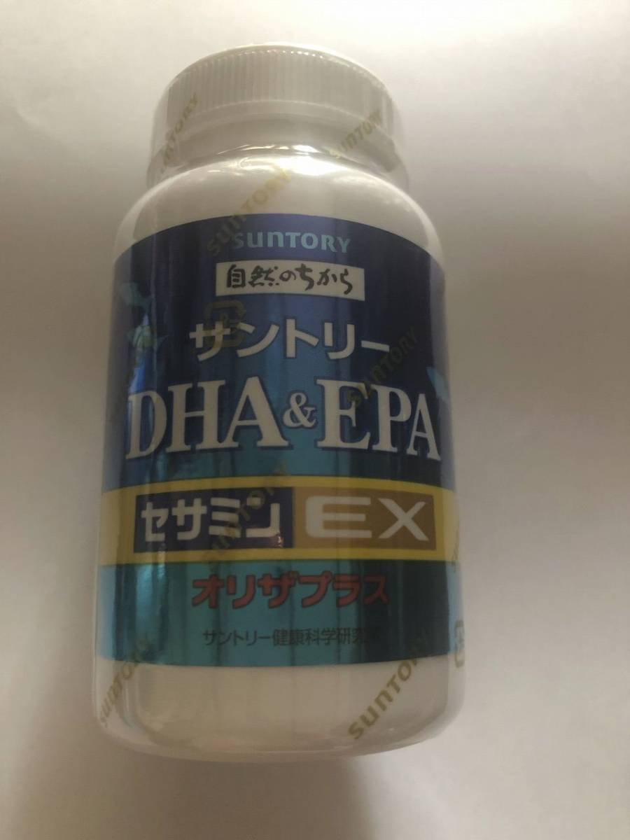 サントリー☆DHA&EPA+セサミンEX オリザプラス240粒☆2か月分☆送料無料☆