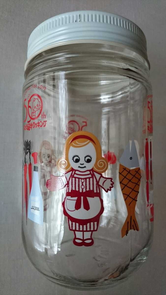 可愛らしいです!空瓶 キューピー3分クッキング 50周年 マヨネーズ コレクションアイテム 名作です 番組は1963年開始?_画像1