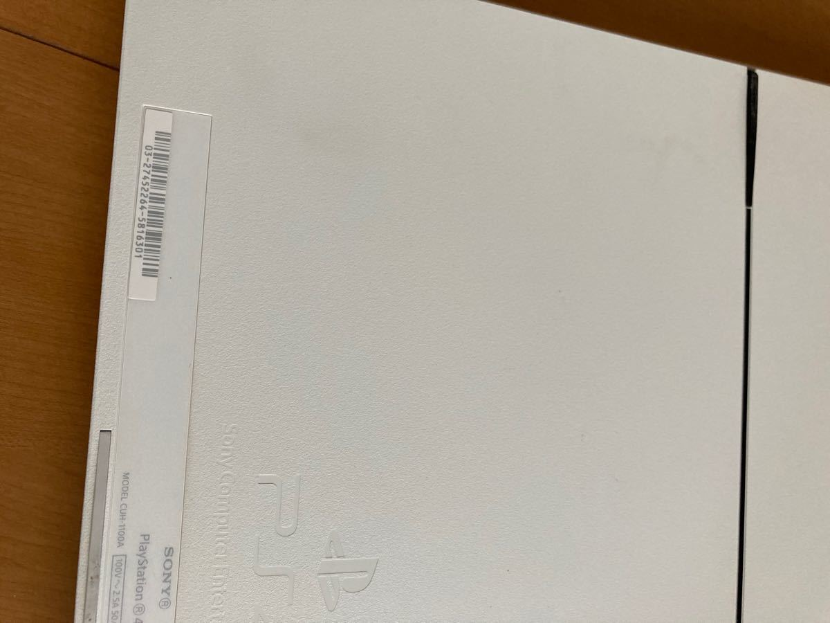 PS4プレイステーション4本体 500GB ワイヤレスコントローラーセット動作品