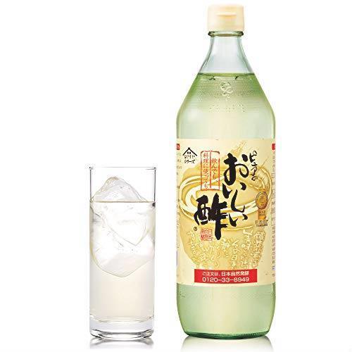 送料無料 日本自然発酵 おいしい酢 900ml 6本セット_画像2