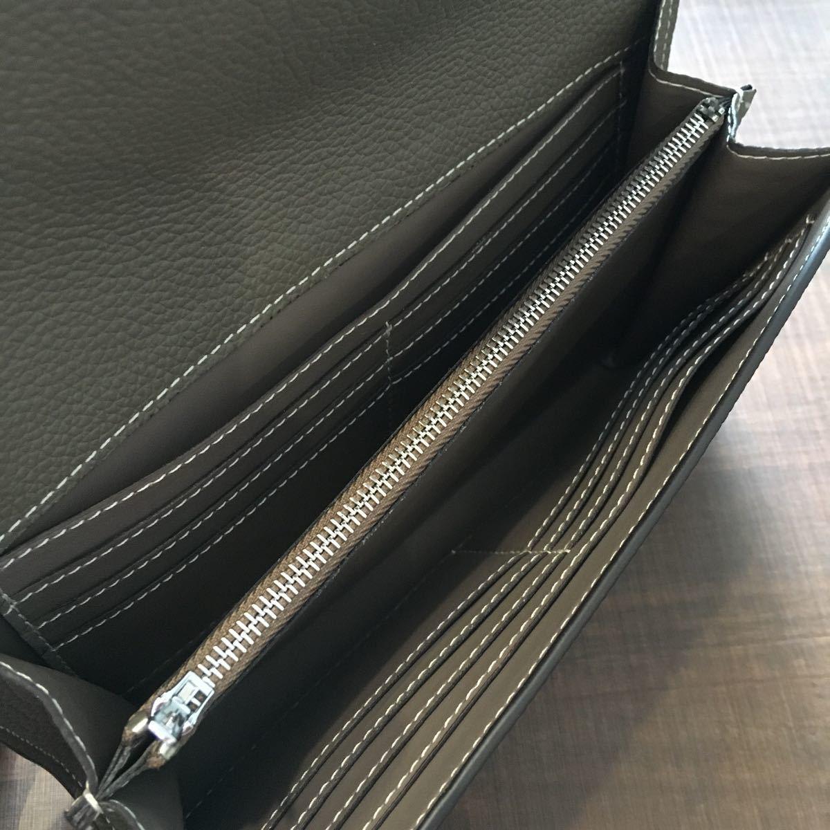 本革 レザー 大容量 クラッチバッグ 長財布 ハンドバッグ 8700円