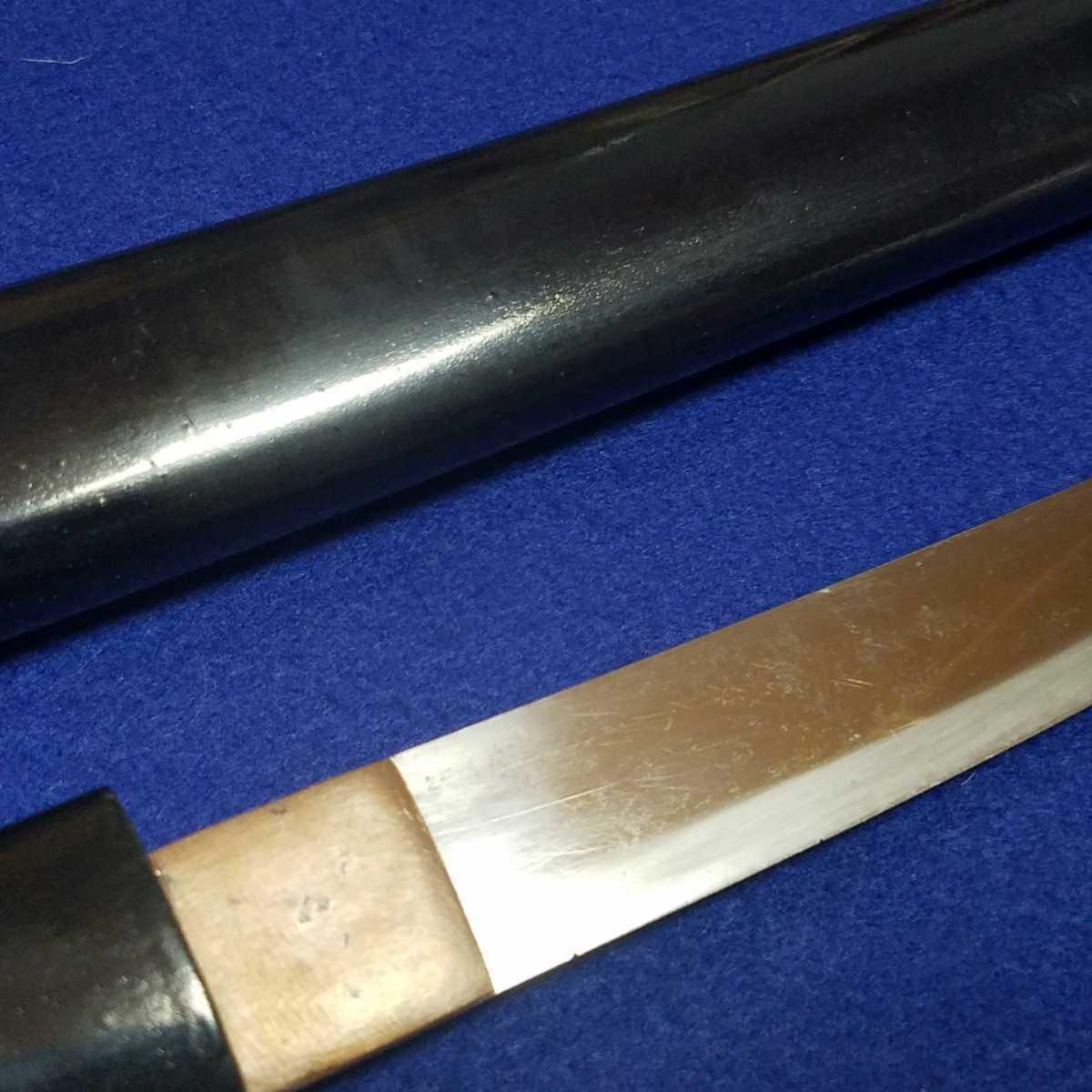 ■短刀■14.95cm■合法サイズ■日本刀、刀、刀剣、侍、武士、武具■a687_画像6