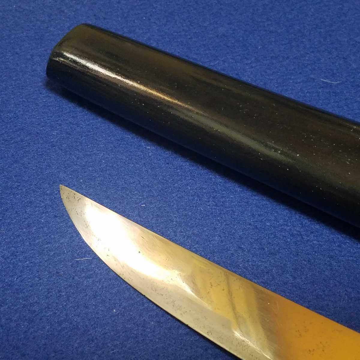 ■短刀■14.95cm■合法サイズ■日本刀、刀、刀剣、侍、武士、武具■a687_画像2
