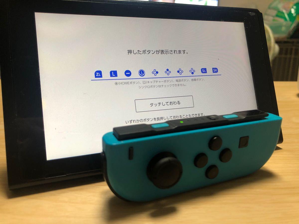 Nintendo Switch Joy-Con ジョイコン ネオンレッド ブルー