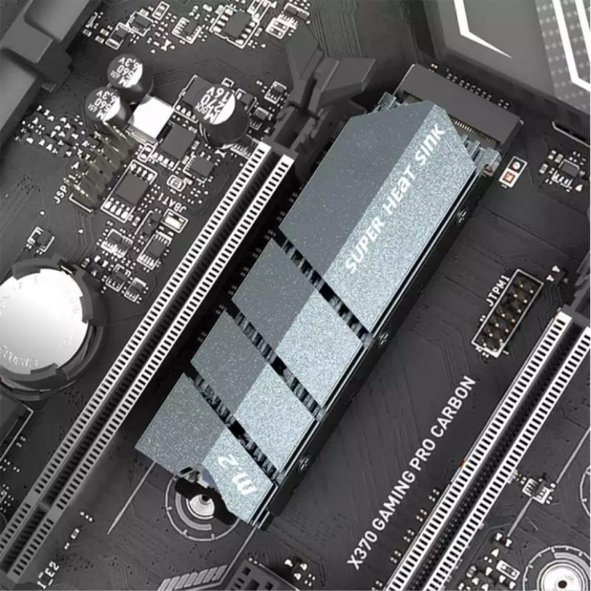 M.2 SSD用ヒートシンク