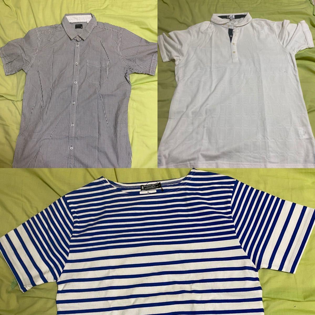 メンズ シャツ ポロシャツ Tシャツ 3点 TK