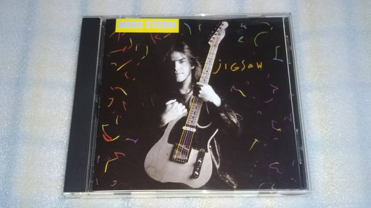 MIKE STERN/jigsaw 輸入盤CD US JAZZ FUSION 89年作 WOUNDED BIRD_画像1
