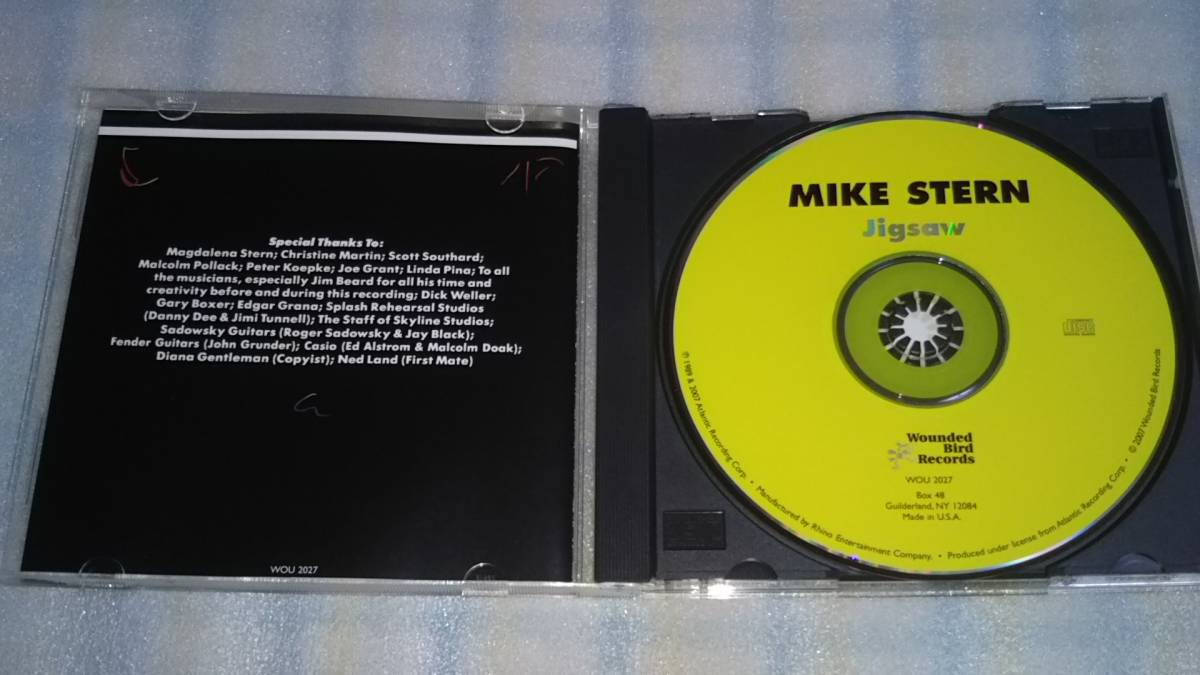 MIKE STERN/jigsaw 輸入盤CD US JAZZ FUSION 89年作 WOUNDED BIRD_画像2