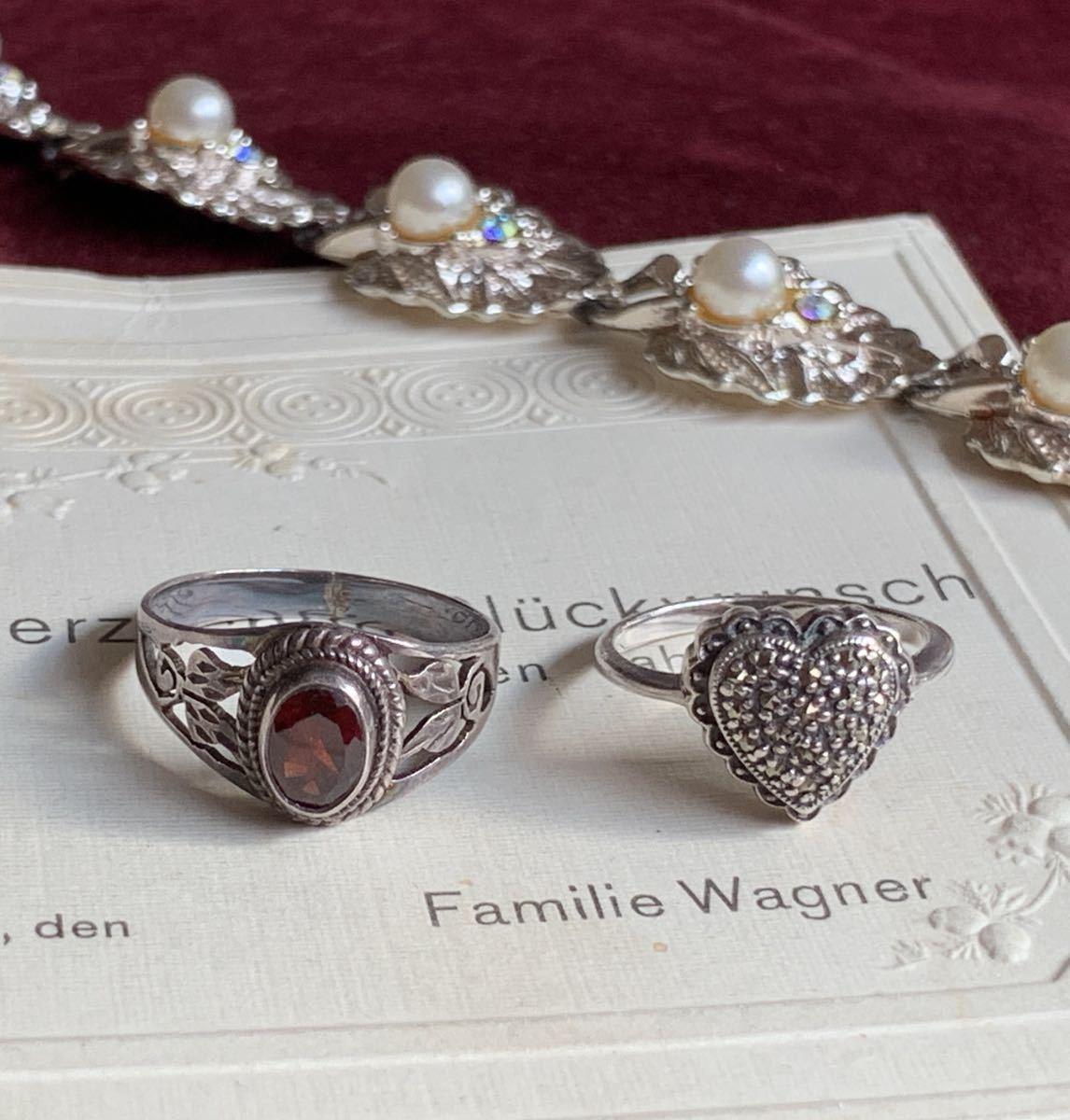ハートの指輪 シルバー silver ヴィンテージリング_画像4