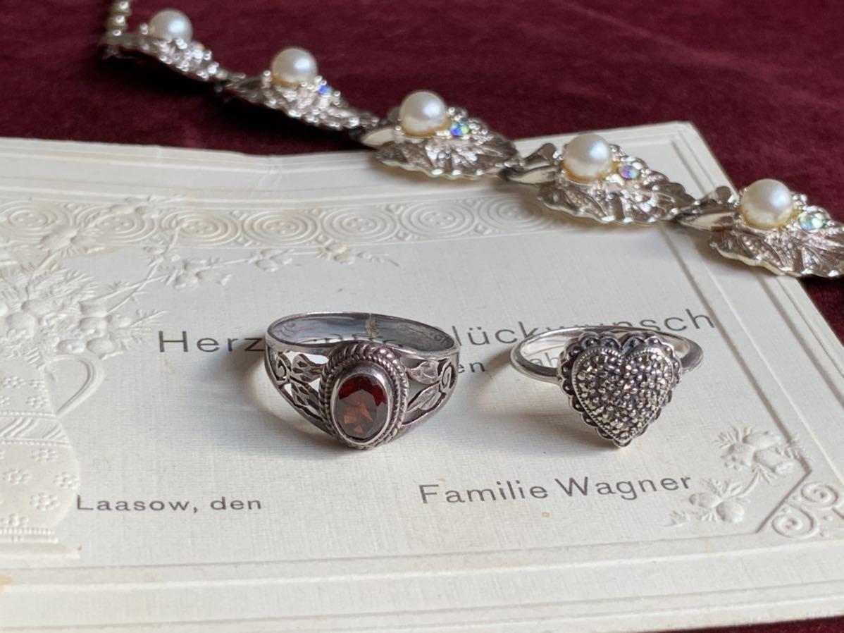 ハートの指輪 シルバー silver ヴィンテージリング_画像8