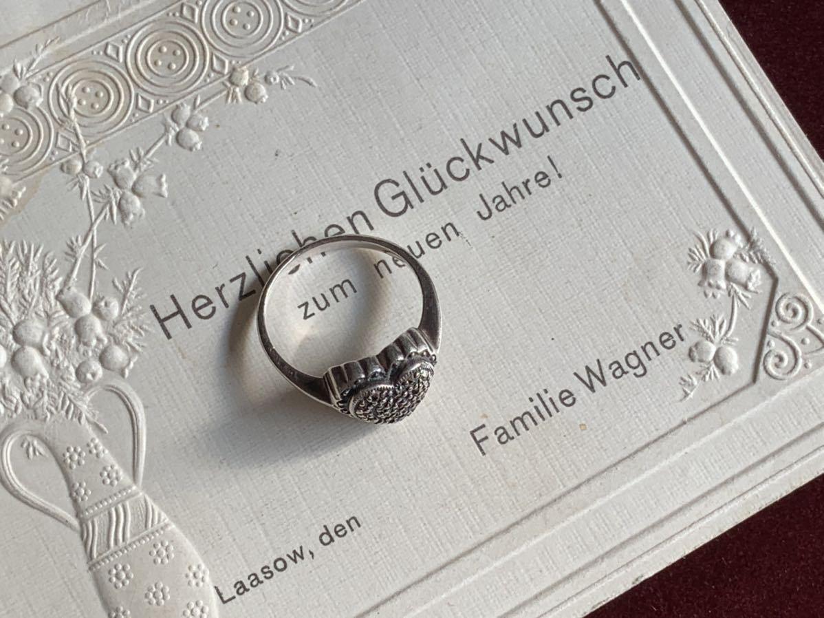 ハートの指輪 シルバー silver ヴィンテージリング_画像5