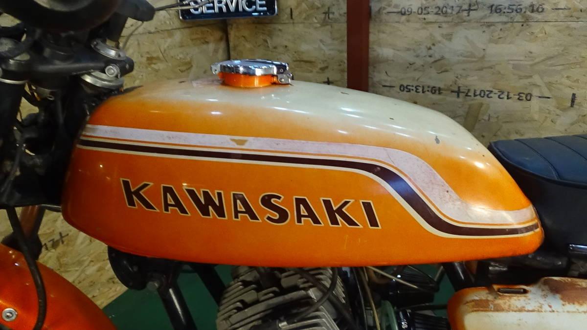 「【ローン可】KAWASAKI H1B 500SS 昭和47年 1972年 旧車 H1/SS/MACH 希少 カワサキ」の画像2