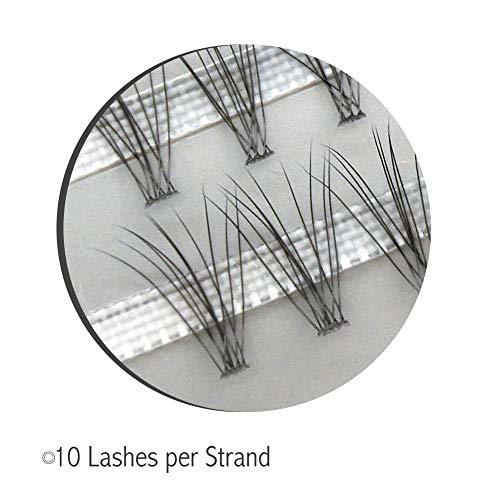 0.07mm 10ps.@ bundle 8mm LASHVIEW eyelashes extensions thickness 0.07mm 10ps.@ bundle length 8mm