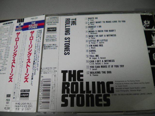 廃盤 UK仕様1ST ローリング・ストーンズ / THE ROLLING STONES