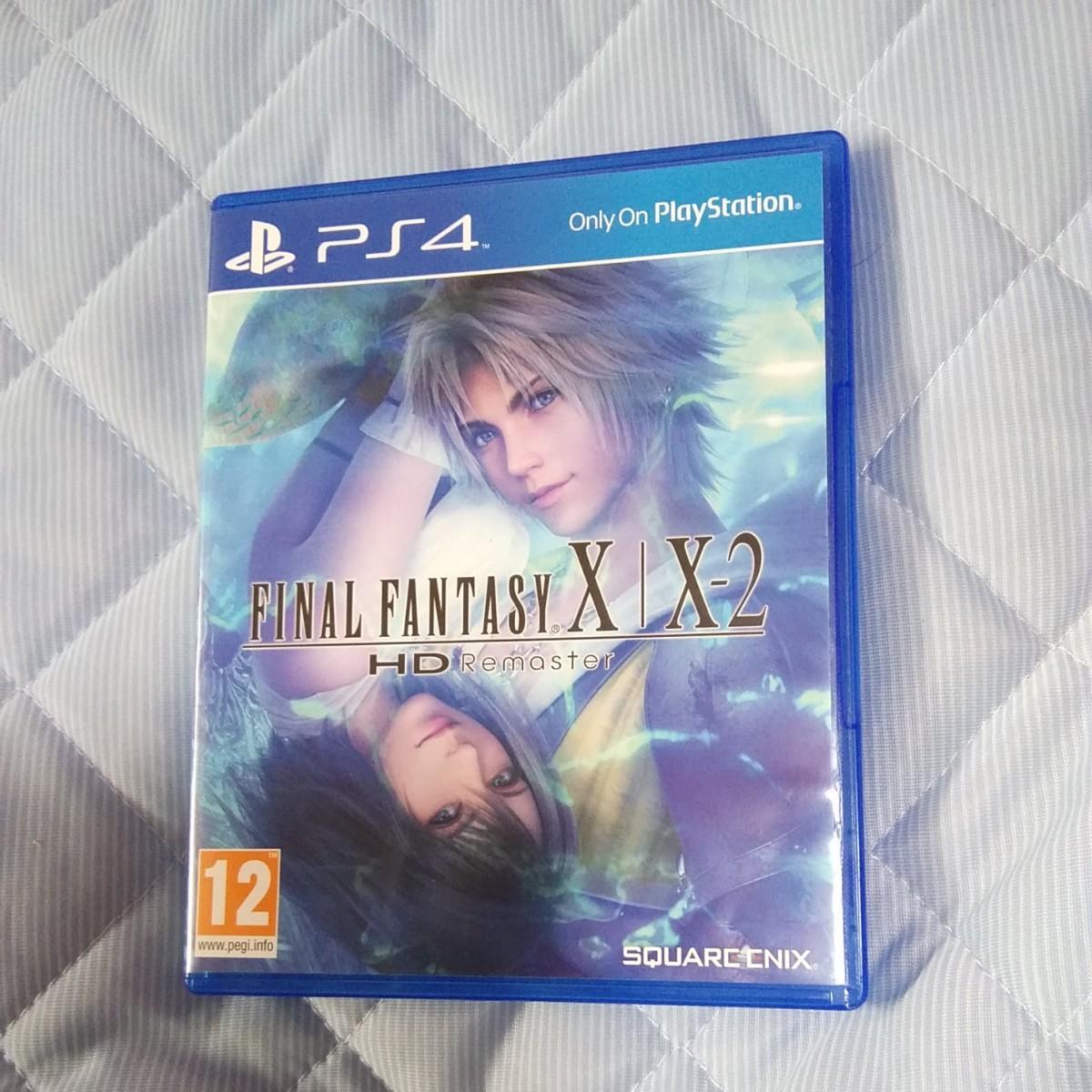 HD Remaster ファイナルファンタジー X/X-2 PS4 輸入版