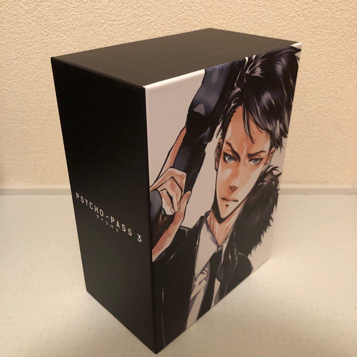 テレビアニメサイコパス 3 blu-ray 全巻セット 収納boxつき