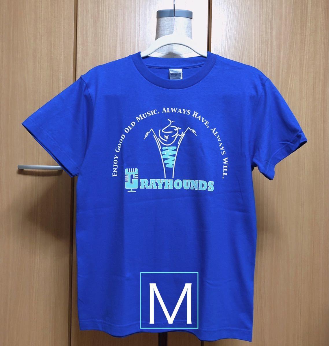 ブルーM 2020 グレイハウンズTシャツ(グレハンソーダ)