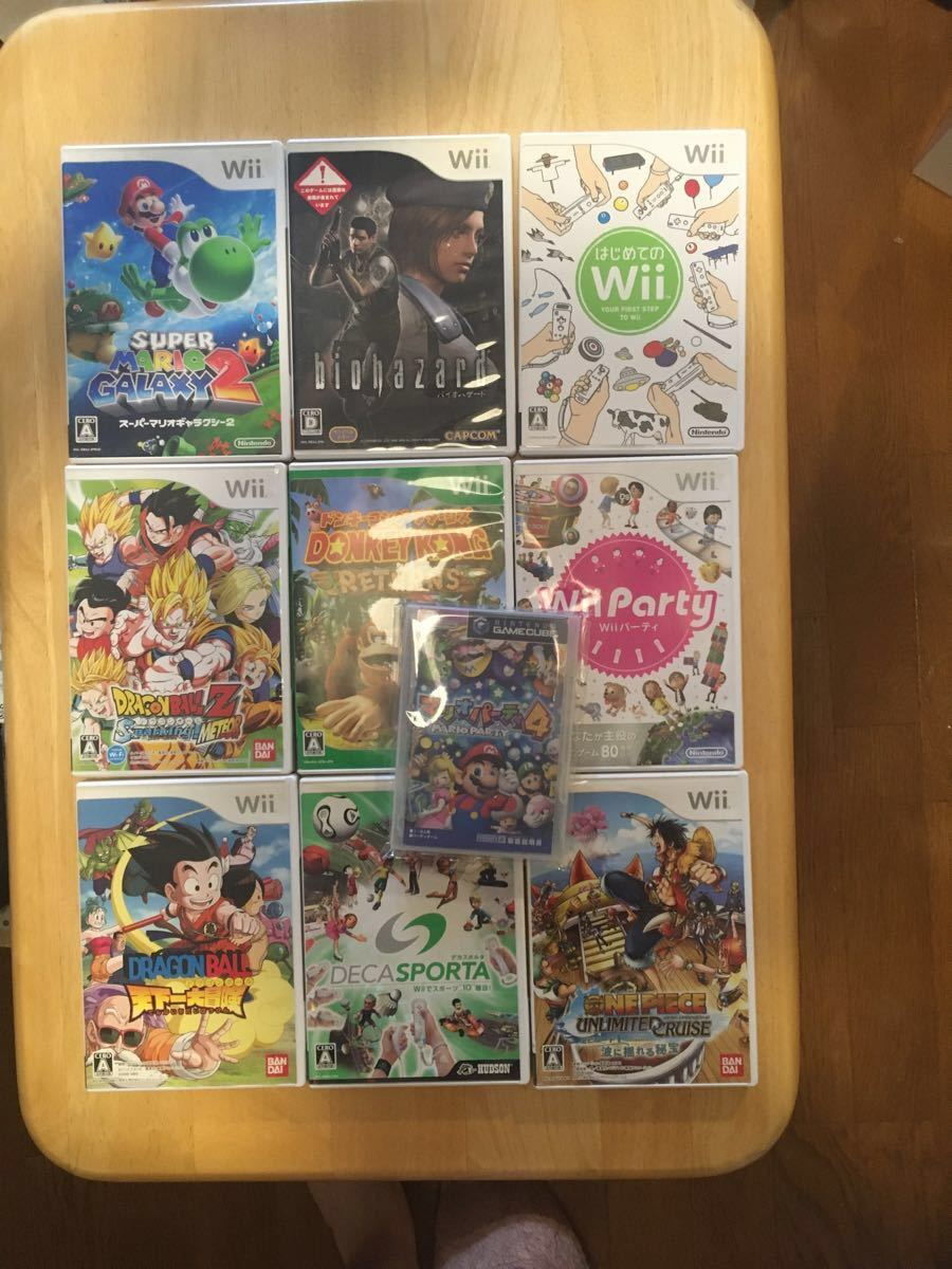 wiiソフト15本セット ゲームキューブソフト1本 Wiiソフト