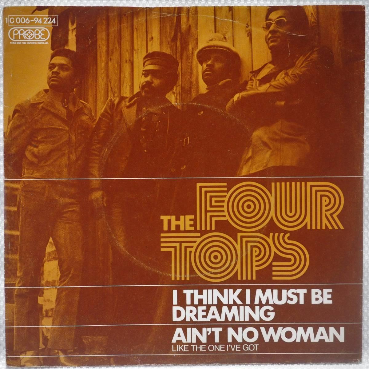 Four Tops / Ain't No Woman☆ドイツ盤7インチ MURO KOCO Diggin'Ice96_画像1