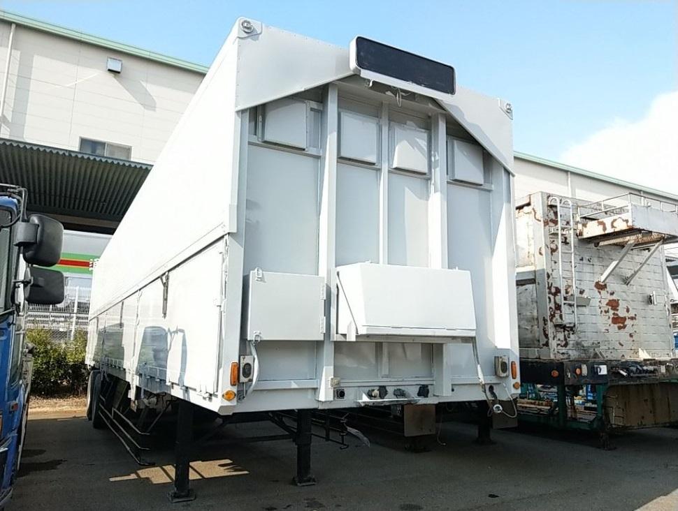 「【CH15798】H15年 東急 シングル引き アルミウィングトレーラー 13mウィング セミトレーラー 積載19.7t エアサス リフトアクスル」の画像1