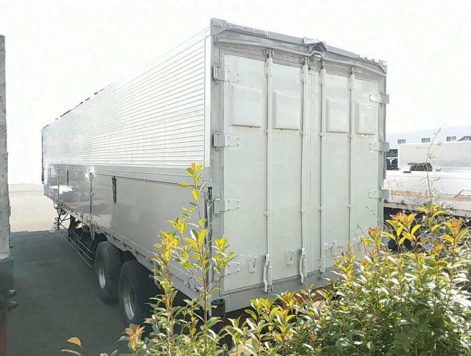 「【CH15798】H15年 東急 シングル引き アルミウィングトレーラー 13mウィング セミトレーラー 積載19.7t エアサス リフトアクスル」の画像3