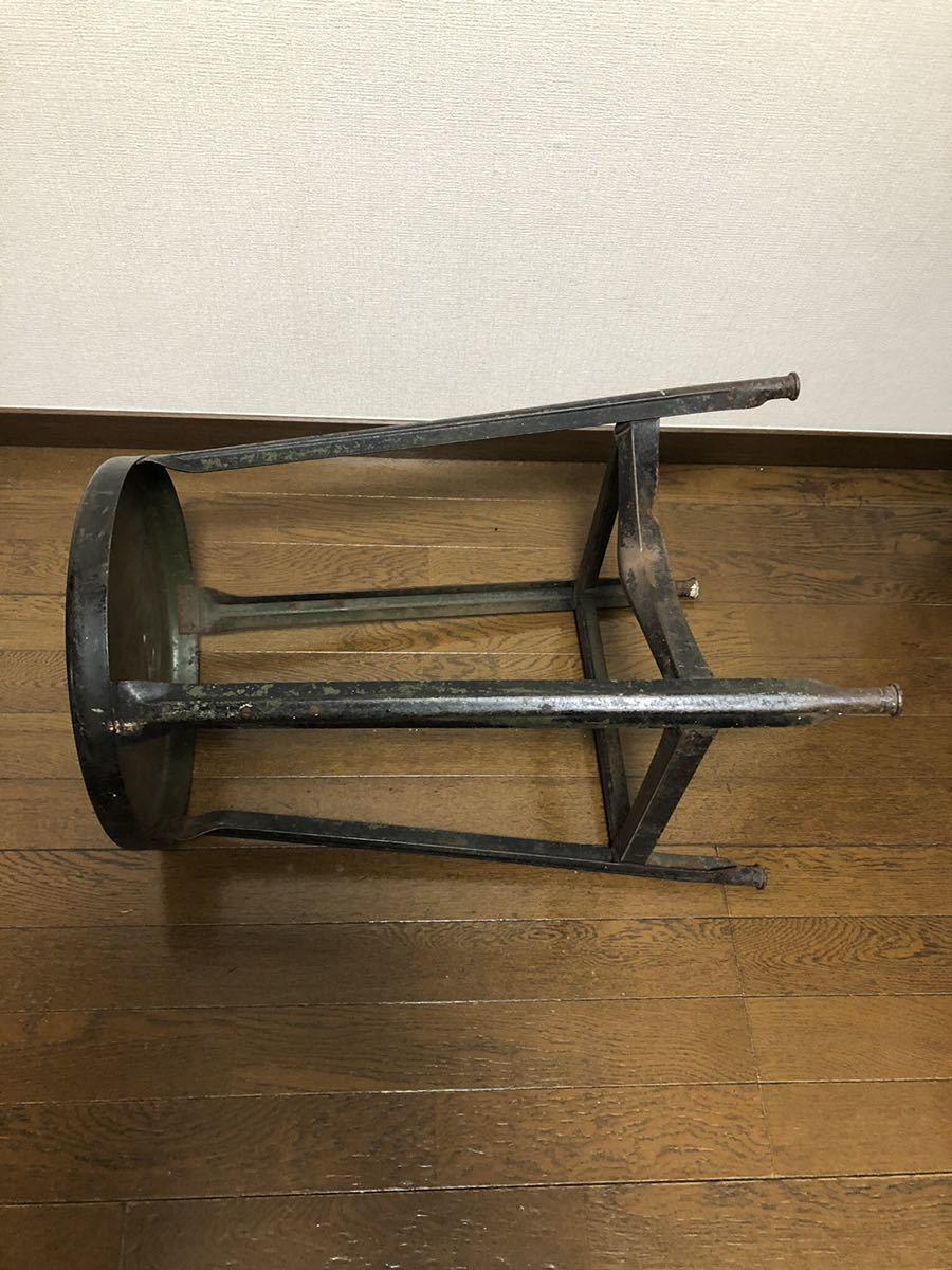【Antique】40s~ u.s.a製 スツール アンティーク ビンテージ インダストリアル_画像4