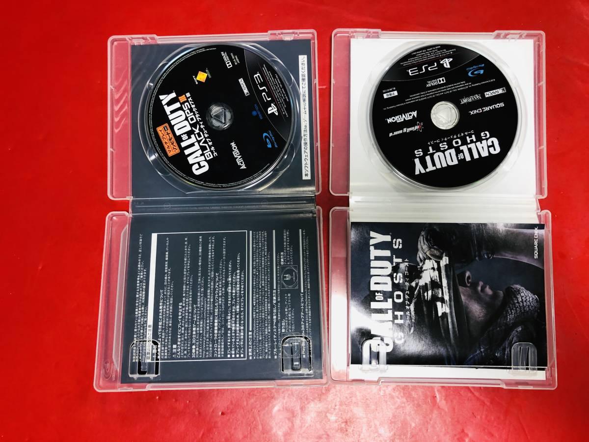 コール オブ デューティ ブラックオプス 1 2 3 Ⅰ Ⅱ Ⅲ コールオブデューティゴースト 4本 セット 即売り!!_画像5