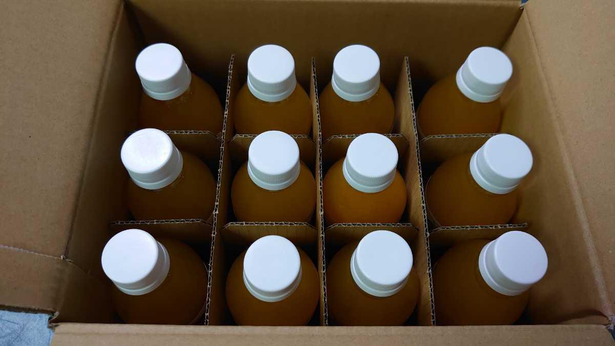愛媛県産100%ストレート果汁温州みかんジュース250㎜×12本入り_画像3