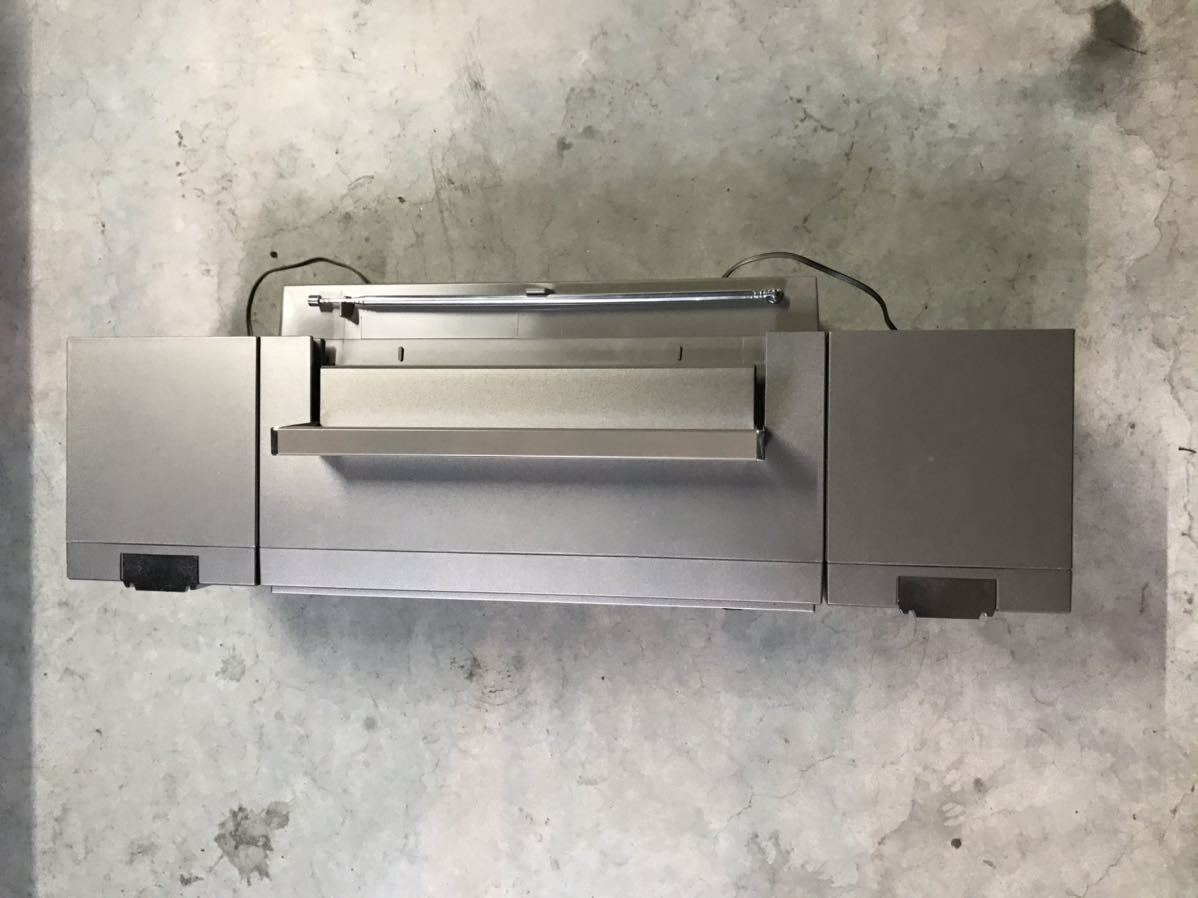 National ナショナル RX-C46 ラジカセ スピーカー分離型 レトロ家電 元箱入 昭和レトロ デットストック _画像4