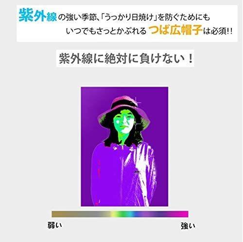 《未使用》UVカット 帽子 ハット レディース 日よけ帽子 紫外線対策 2way 日焼け防止 熱中症予防 つば広《アウトレット》TV48_画像3