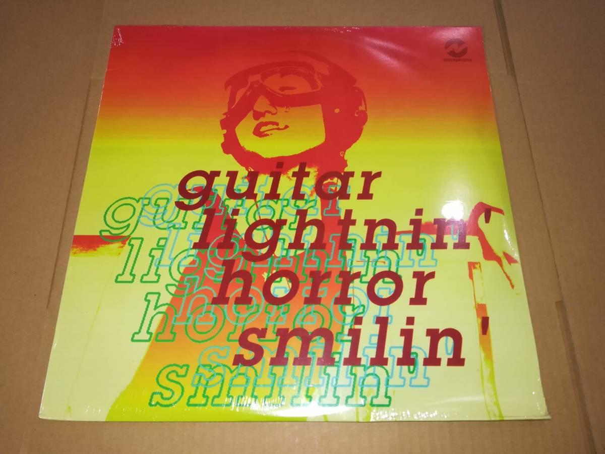 L2183◆LP* /未開封/ ペンギンノイズ、Pre-School 他 / Guitar Lightnin' Horror Smilin'_画像1