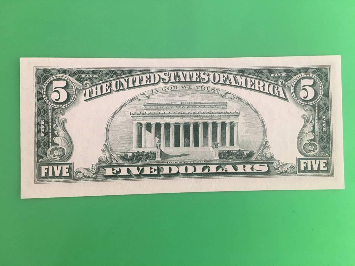 ヤフオク! - 1969年 アメリカ 5ドル札 スターノート 新品 リ...