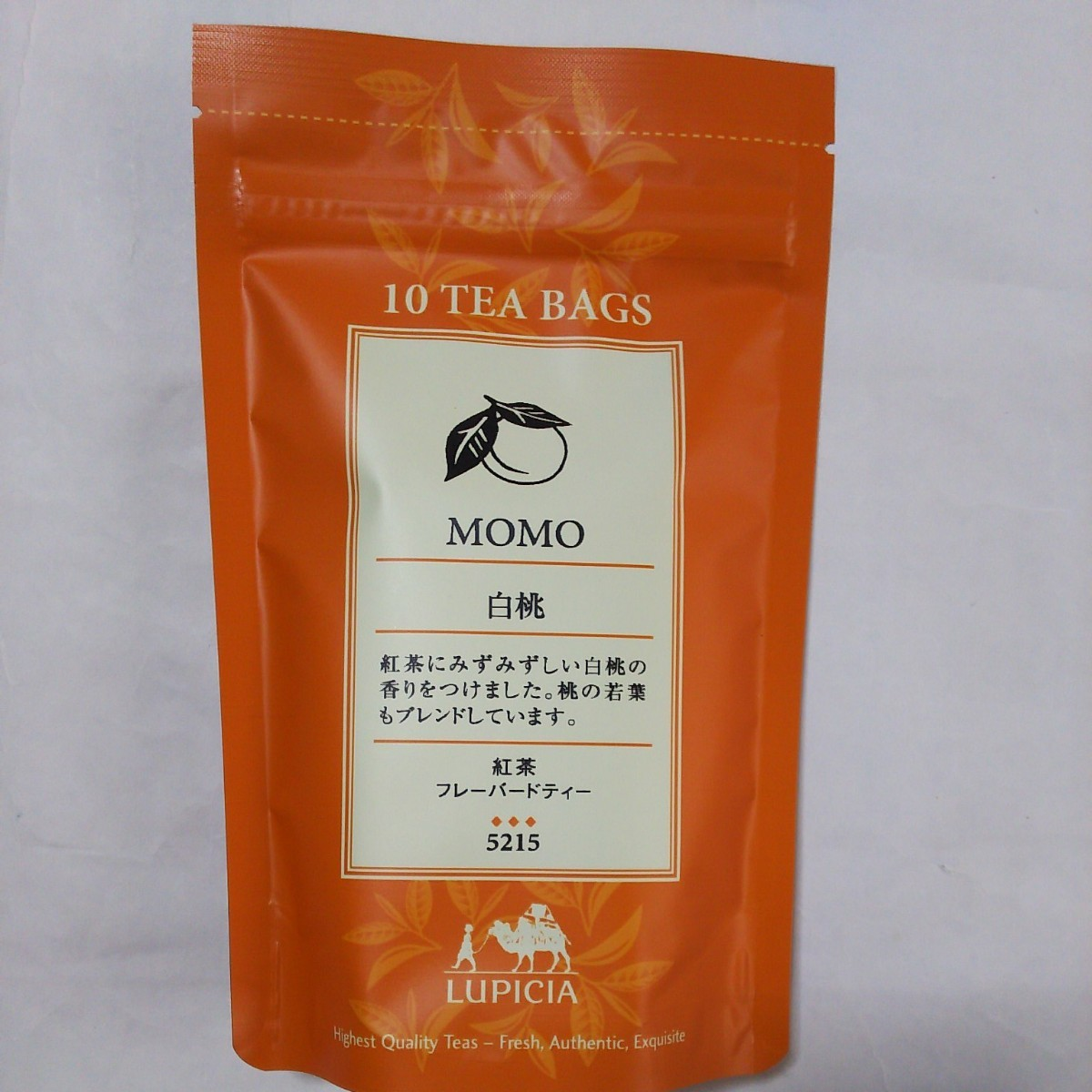 白桃 ルピシア LUPICIA フレーバード ティーバッグ 紅茶