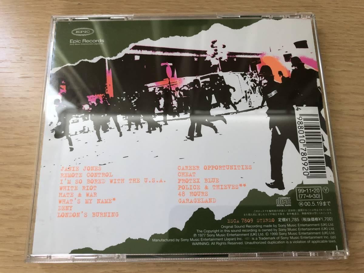 The Clash / The Clash ザ・クラッシュ 白い暴動 EPIC RECORDS ESCA 7809